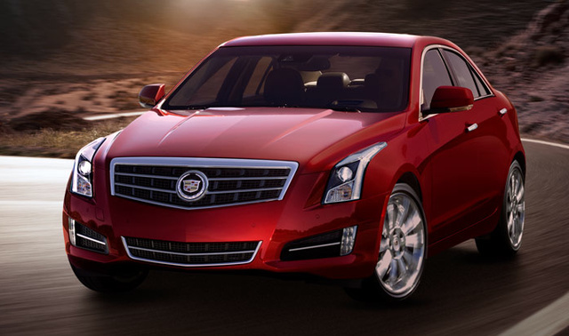 2013 Cadillac ATS, Front quarter view. , exterior, manufacturer, gallery_worthy