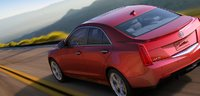 2013 Cadillac ATS, Back quarter view. , exterior, manufacturer, gallery_worthy