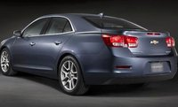 2013 Chevrolet Malibu, Back quarter view. , exterior, manufacturer, gallery_worthy