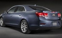2013 Chevrolet Malibu, Back quarter view. , exterior, manufacturer