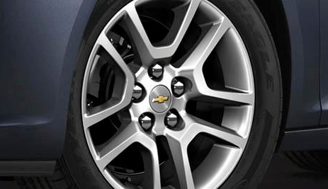 2013 Chevrolet Malibu, Close-up of front tire. , exterior, manufacturer