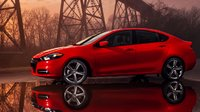 2013 Dodge Dart, Side View. , exterior, manufacturer