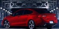2013 Dodge Dart, Back quarter view. , exterior, manufacturer