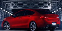 2013 Dodge Dart, Back quarter view. , exterior, manufacturer