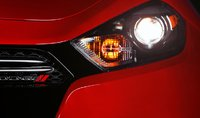 2013 Dodge Dart, Close-up of headlight., exterior, manufacturer