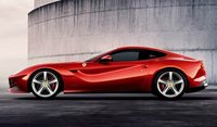 2013 Ferrari F12berlinetta, Side View. , exterior, manufacturer