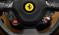 2013 Ferrari F12 Berlinetta, Close-up of steering wheel., interior, manufacturer