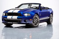 2013 Ford Shelby GT500, Front quarter view., exterior, manufacturer