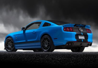 2013 Ford Shelby GT500, Back quarter view copyright AOL Autos., manufacturer, exterior