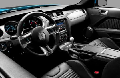 2013 Ford Shelby GT500, Front View copyright AOL Autos., manufacturer, interior