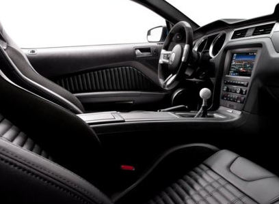 2013 Ford Shelby GT500, Front Seat copyright AOL Autos., manufacturer, interior