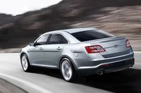 2013 Ford Taurus, Back quarter view. , exterior, manufacturer