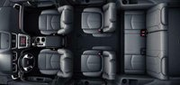 2013 GMC Acadia, Front and back seat., interior, manufacturer