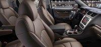 2013 GMC Acadia, Front Seat., interior, manufacturer