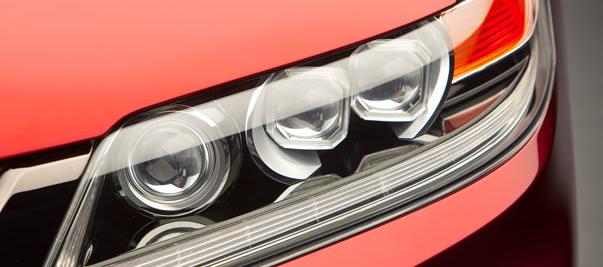 2013 Honda Accord Coupe, Headlight., interior, manufacturer