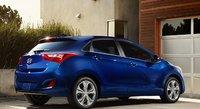 2013 Hyundai Elantra GT, Back quarter view., exterior, manufacturer, gallery_worthy