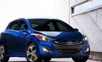 2013 Hyundai Elantra GT, Front View., exterior, manufacturer