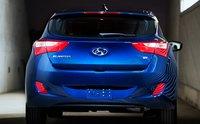 2013 Hyundai Elantra GT, Back View., exterior, manufacturer