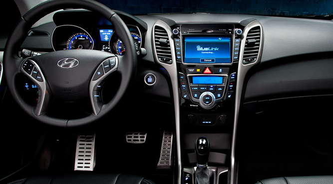2013 Hyundai Elantra GT, Front Seat., interior, manufacturer