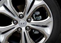 2013 Hyundai Elantra GT, Close-up of front tire., exterior, manufacturer