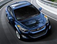 2013 Hyundai Elantra, Front View., exterior, manufacturer