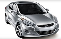 2013 Hyundai Elantra, Front quarter view., exterior, manufacturer