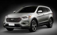 2013 Hyundai Santa Fe, Front quarter view., exterior, manufacturer