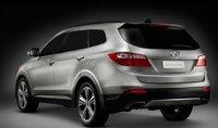 2013 Hyundai Santa Fe, Back quarter view., exterior, manufacturer