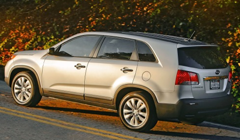 2013 Kia Sorento, Side View., manufacturer, exterior