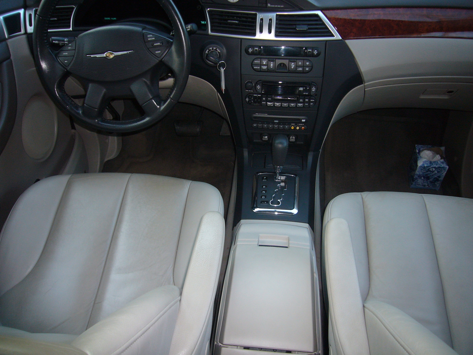 Picture Of 2005 Chrysler Pacifica Touring Interior