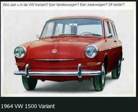 1964 Volkswagen Variant, Mine was a light blue model similar to the photo, exterior, gallery_worthy