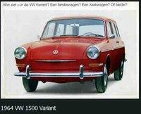 1964 Volkswagen Variant Picture Gallery