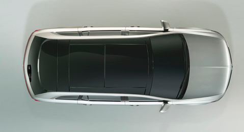 2013 Lincoln MKT, Aerial View, exterior, manufacturer