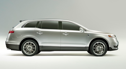 2013 Lincoln MKT, Side View., manufacturer, exterior