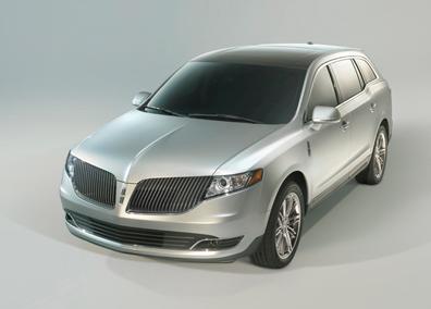 2013 Lincoln MKT, Front quarter view., exterior, manufacturer