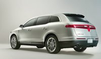 2013 Lincoln MKT, Back quarter view., manufacturer, exterior