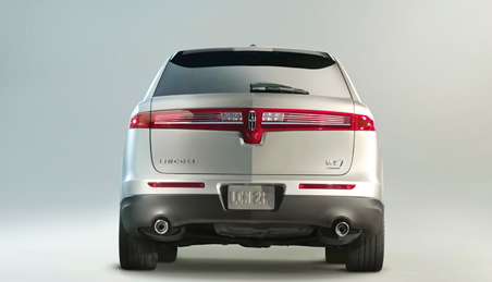 2013 Lincoln MKT, Back View., manufacturer, exterior