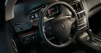 2013 Lincoln MKT, Close-up of Steering Wheel., interior, manufacturer