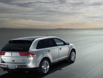 2013 Lincoln MKX, Back quarter view., exterior, manufacturer