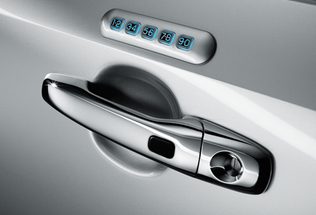 2013 Lincoln MKX, Door Handle., exterior, manufacturer