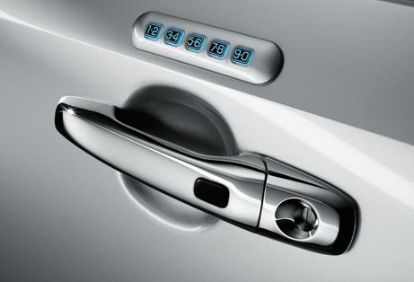 2013 Lincoln MKX, Door Handle., exterior, manufacturer