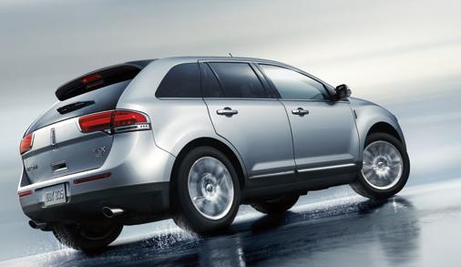 2013 Lincoln MKX, Back quarter view., exterior, manufacturer