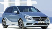 2013 Mercedes-Benz B-Class, Front quarter view., exterior, manufacturer