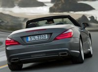 2013 Mercedes-Benz SL-Class, Back quarter view copyright AOL Autos., manufacturer, exterior