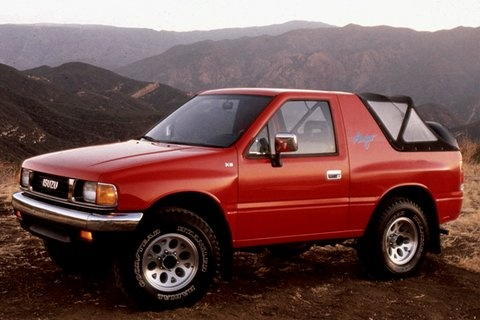 Picture of 1994 Isuzu Amigo 2 Dr XS 4WD Convertible, exterior, gallery_worthy