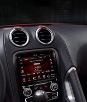 2013 SRT Viper, Close-up of stereo copyright Yahoo Autos., manufacturer, interior