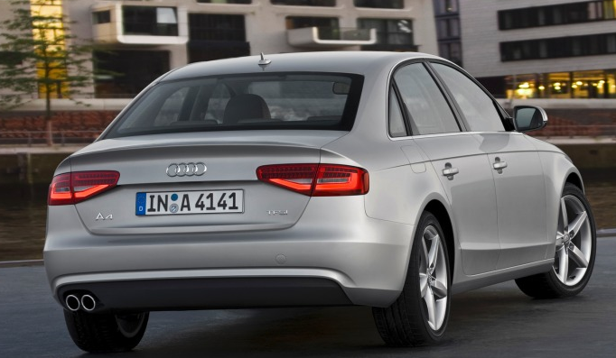 2010 Audi A4, Back quarter view., manufacturer, exterior