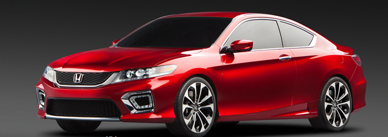 2013 Honda Accord Coupe, Front quarter view., manufacturer, exterior