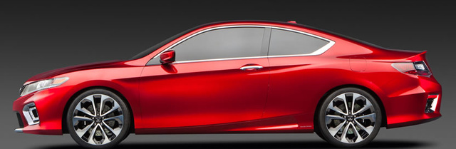 2013 Honda Accord Coupe, Side View., exterior, manufacturer