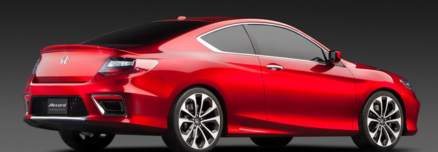 2013 Honda Accord Coupe, Back quarter view. , exterior, manufacturer